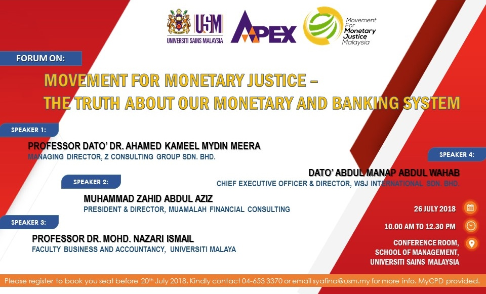Forum - Truth About Monetary & Banking System