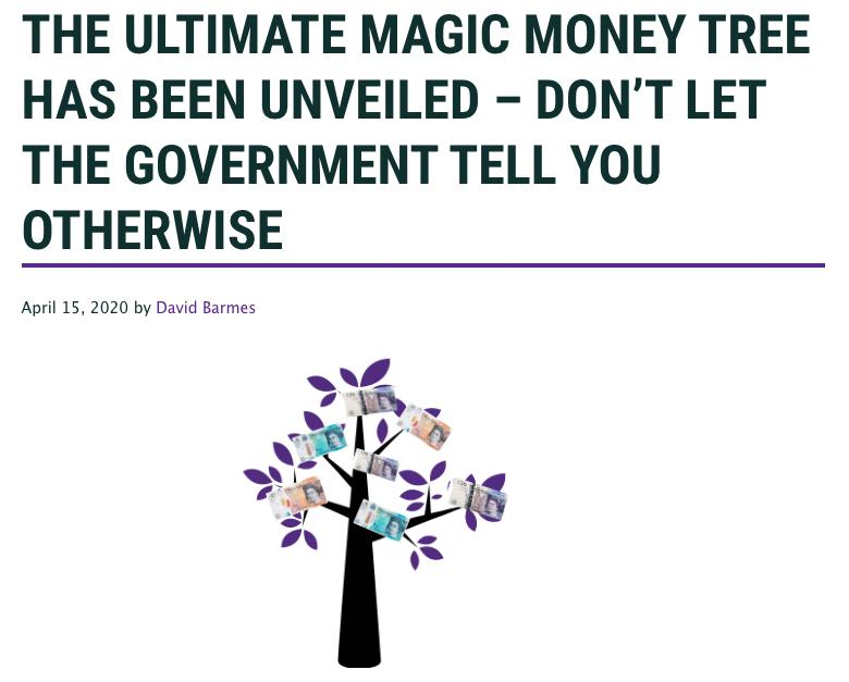 Pokok Duit Ajaib Bank of England